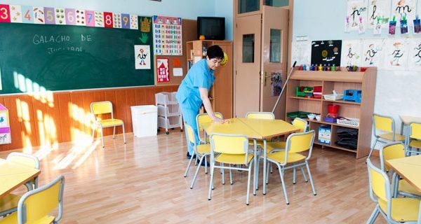 Limpieza de centros docentes